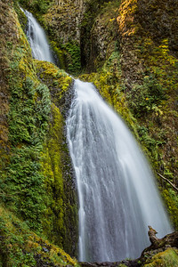 Wahkeena Falls with Silky Veil