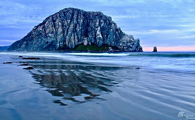 Morro Rock Reflections