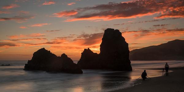 Coastal Beach Sunsets