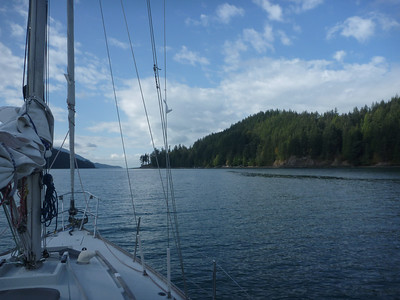 Sailing August 2016