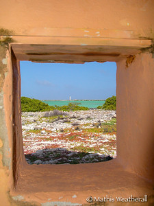 A View from Slave Huts in Bonaire, N.A.