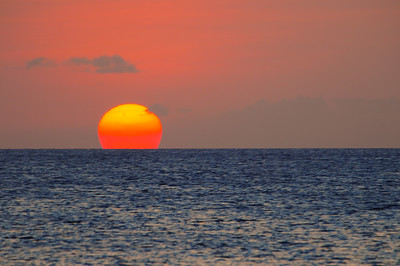 Sunset in Bonaire, N.A.
