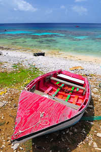 Fishing Boat in Bonaire