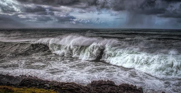 Oregon Coastal Storm