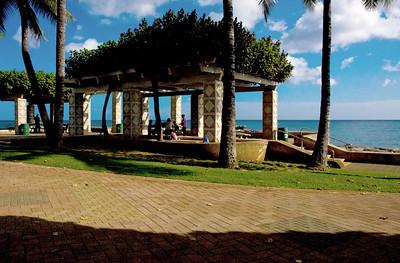 Kaka'ako Waterfront Park  Arbor at Kaka'ako Waterfront Park  060703.193812