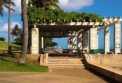 Kaka'ako Waterfront Park  Arbor at Kaka'ako Waterfront Park  060703.193136