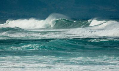 Winter Waves  North Shore Oahu, Hawaii January 2007