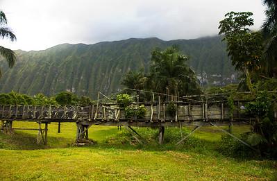 Ko'olau Mountain Range Waimanalo, Oahu, Hawaii