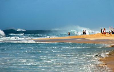 Ehukai Beach in March