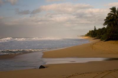 Ehukai Beach North Shore of O'ahu Hawai'i