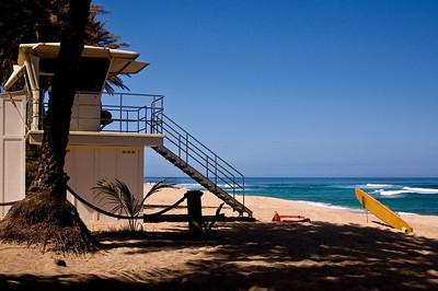 Sunset Beach Lifeguard stationNorth Shore of O'ahu