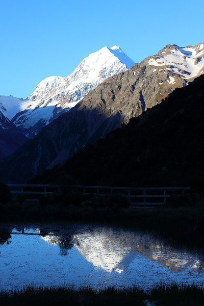 Reflection of Mount Cook