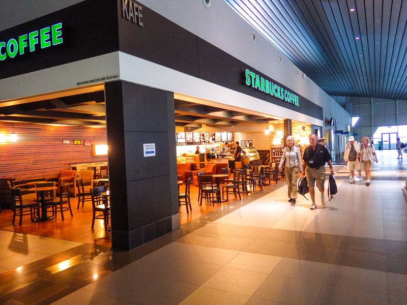 Starbuck's at Kota Kinabalu International Airport