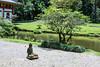 Buddha statue in the temple garden