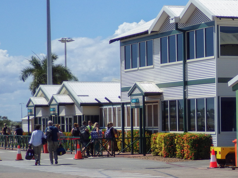 Arriving at Broome