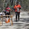 6 January 2015 - Oceania Middle Distance Championships - Rajah Rock, Avoca - Marie Josée Blaise (l) and Regine Pognon (r) New Caledonia
