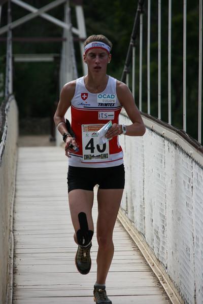 2 January 2015 - IOF World World Cup Sprint Qualification - Cataract Gorge Launceston - Julia Gross (SUI)<br /> photo: Kell Sonnichen