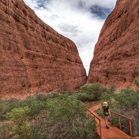 Kata Tjuta, Walpa Gorge Walk - Northern Territory, Australia