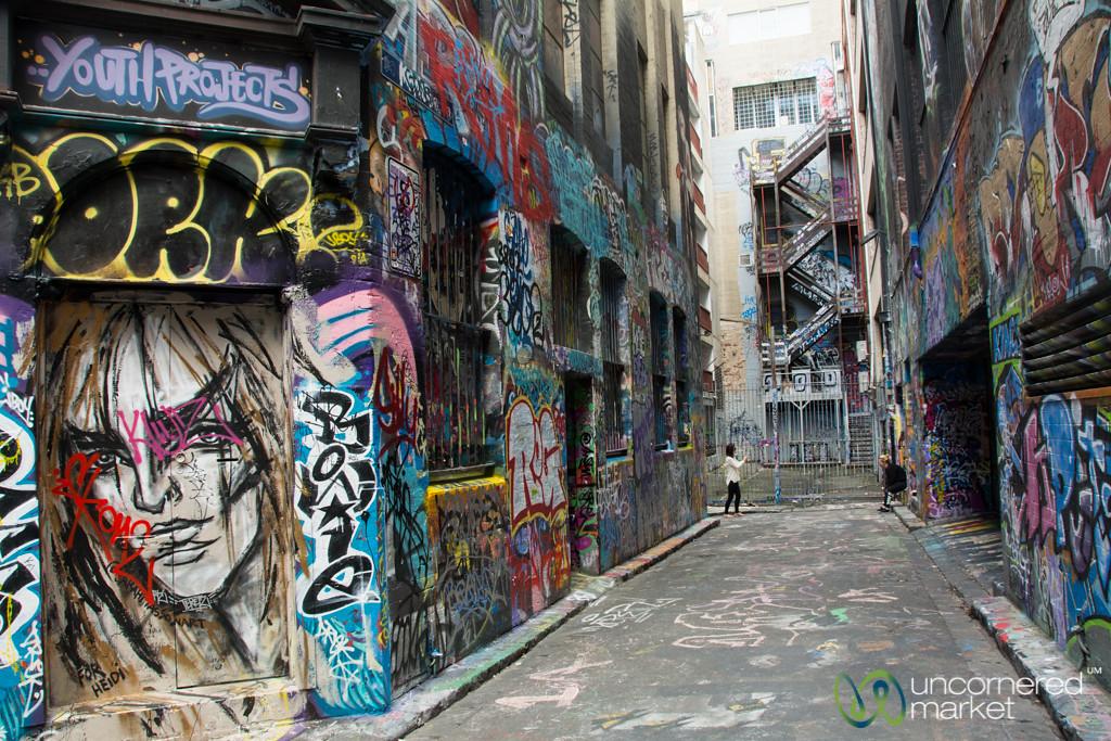 Melbourne's Street Art, Rutledge Lane