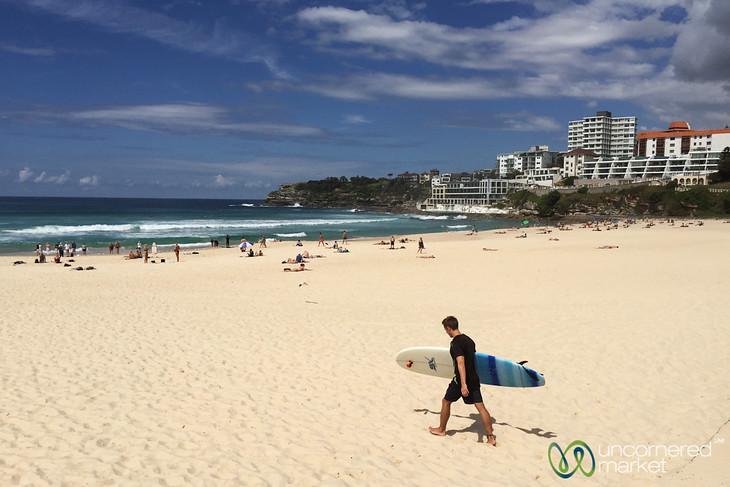 Bondi Beach Surfing - Sydney, Australia