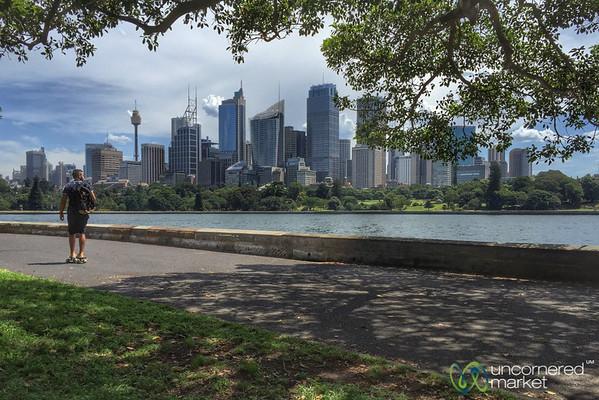 Sydney Botanical Gardens Walk - Australia
