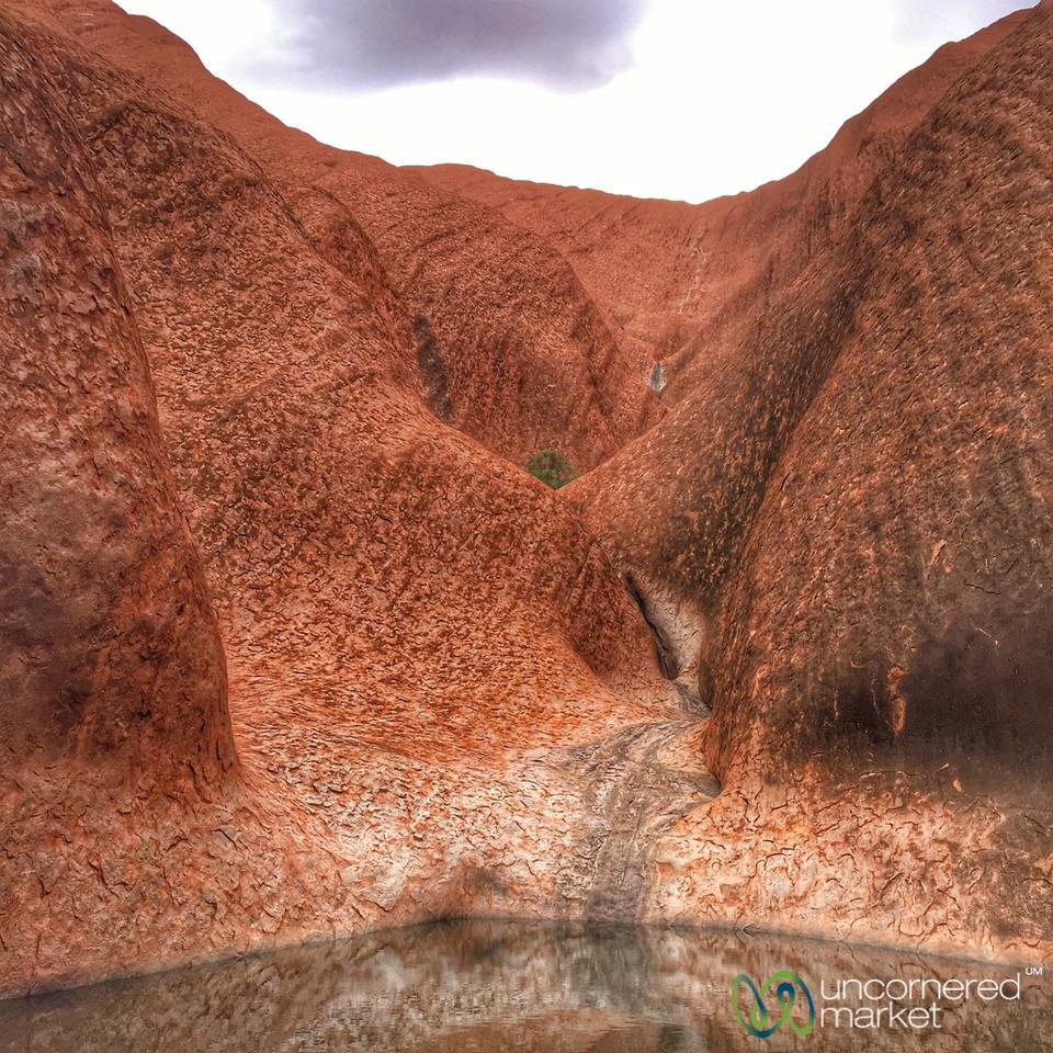 Mala Walk Waterfall - Uluru, Northern Territory