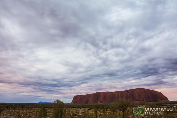 Uluru at Sunrise - Northern Territory, Australia