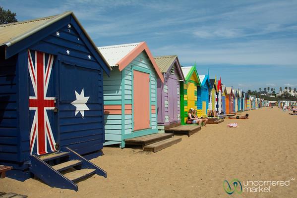 Brighton Beach Huts - Melbourne