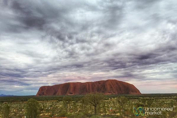 Uluru at Sunrise - Northern Territory, Australia.