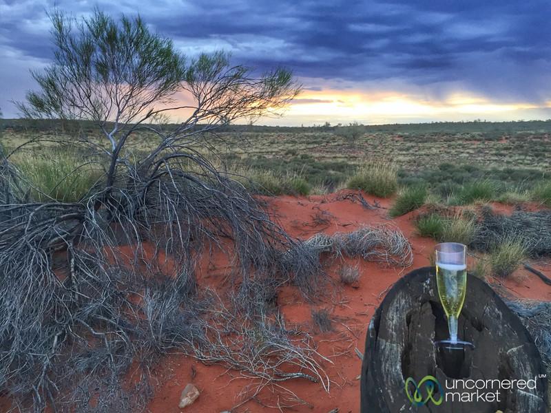 Champagne Sunset at Uluru