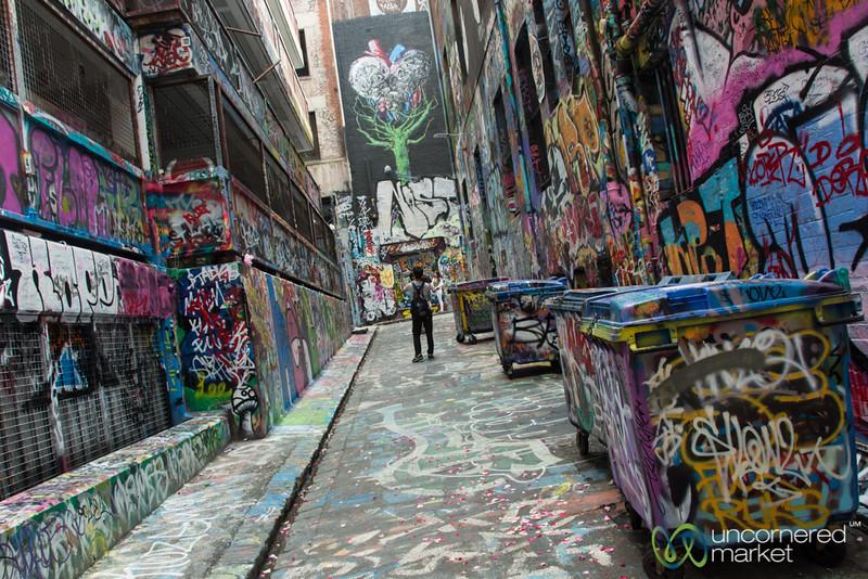 Melbourne's Street Art in Rutledge Lane