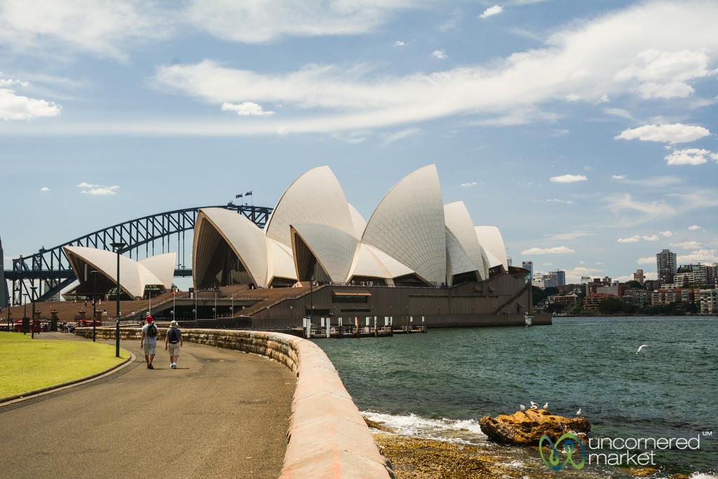Sydney Opera House, View from Botanical Gardens - Australia