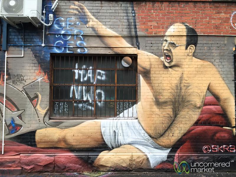 Seinfeld Fans, Melbourne Street Art