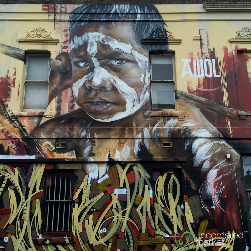 Melbourne Street Art with a Message - Australia