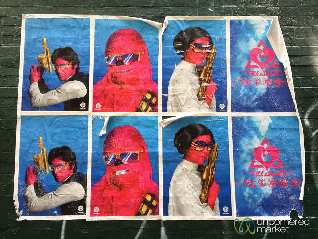 Street Art of a Star Wars Persuasion - Melbourne, Australia