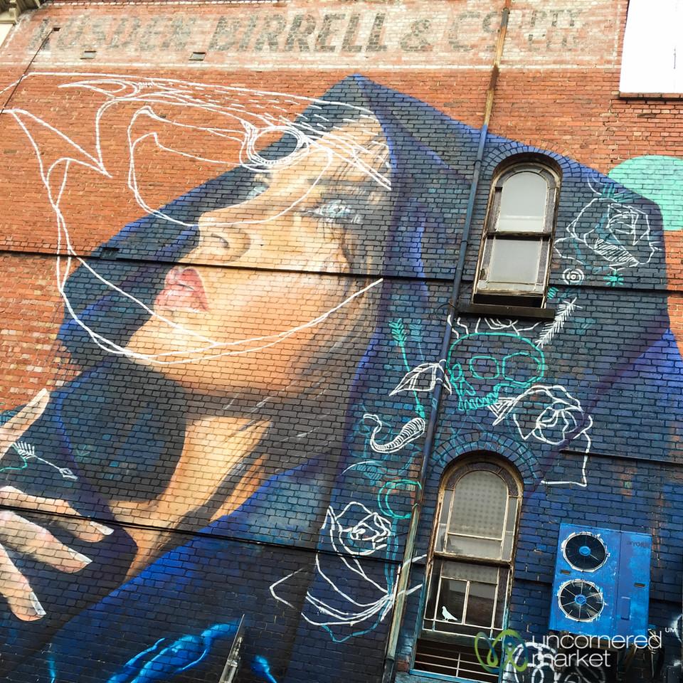 Street Art in Fitzroy - Melbourne, Australia