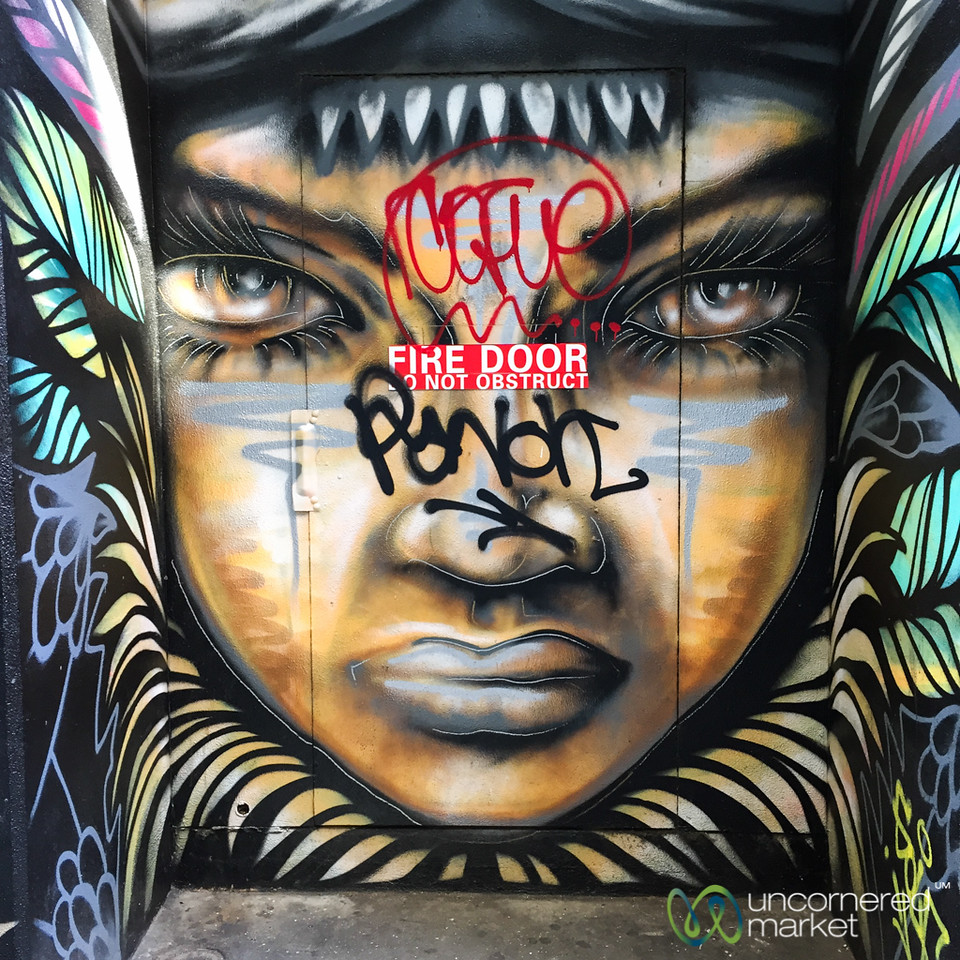 Street Art on the Streets of Melbourne