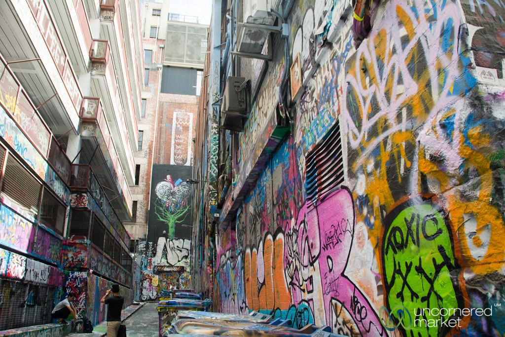 Melbourne Street Art, Rutledge Lane