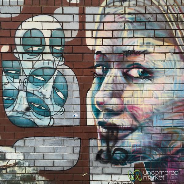 Melbourne Street Art, Faces