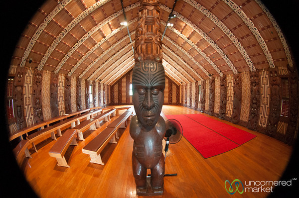 Maori Meeting House - Waitangi Treaty Grounds, New Zealand
