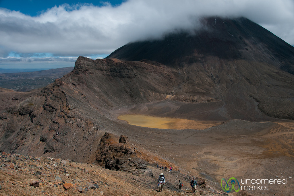 Trekking Tongariro - North Island, New Zealand
