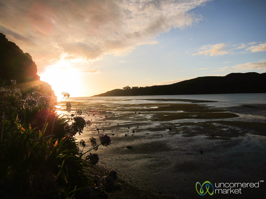 Sunset at Raglan - North Island, New Zealand
