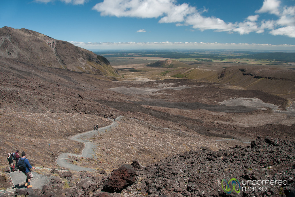 Devil's Staircase and Tongariro National Park - New Zealand