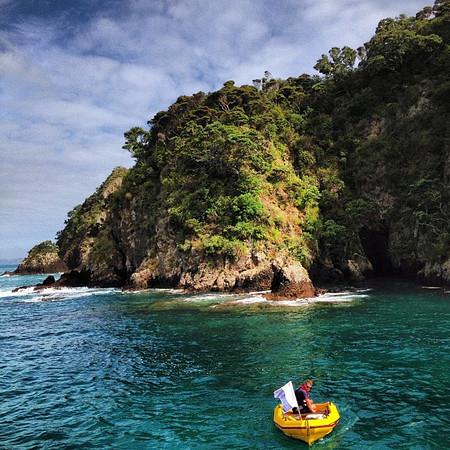 Palm Beach, Motuarohia Island -- morning snorkel #gadv #dna2nz #newzealand