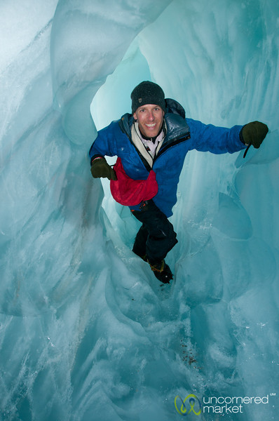 Dan at Franz Josef Glacier - New Zealand