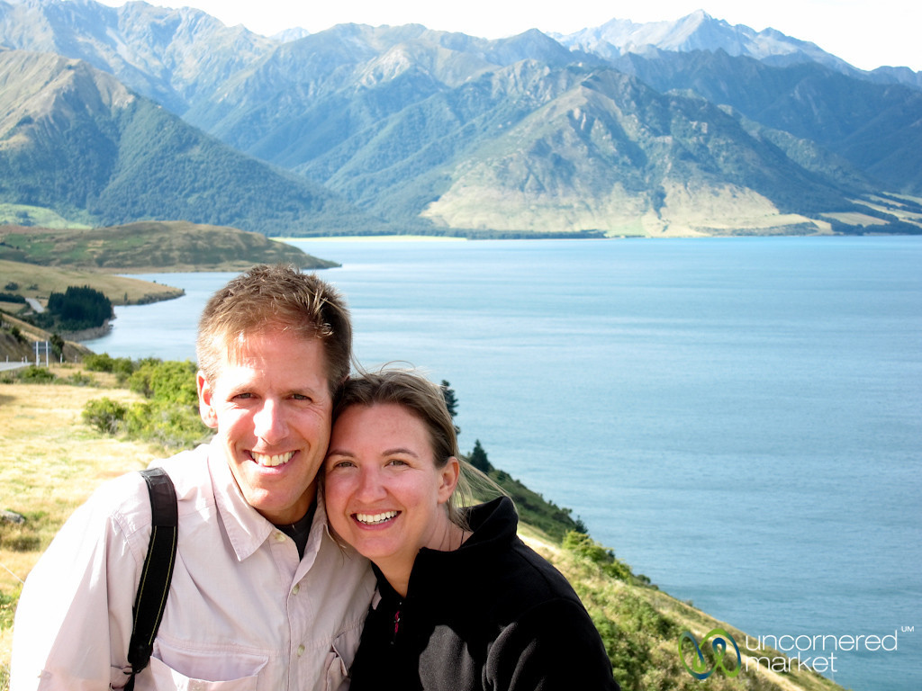 Dan & Audrey Near Queenstown, New Zealand