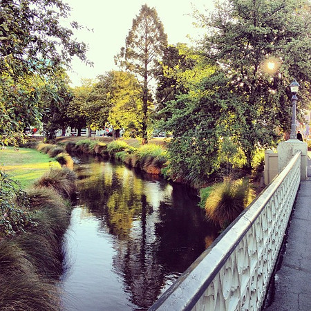 Christchurch: a picture of tranquility in the Garden City #chch