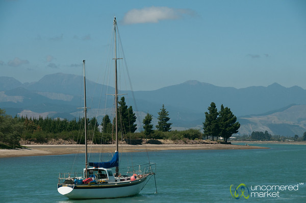 Sailing Away - Mapua, New Zealand