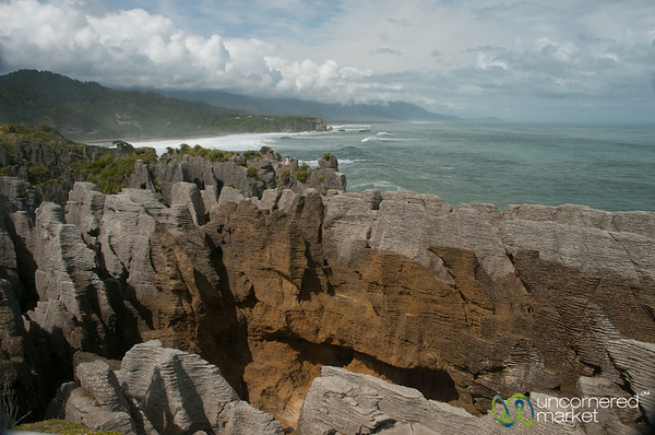 Pancake Rocks of Punaikaiki - South Island, New Zealand
