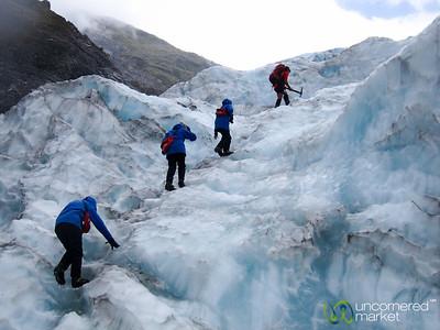 Hiking Up at Franz Josef Glacier - South Island, New Zealand